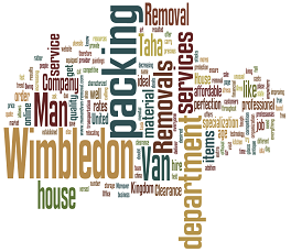 Man and Van Removals Wimbledon